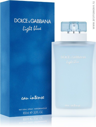 Dolce And Gabbana Light Blue​ Eau Intense Pour Femme