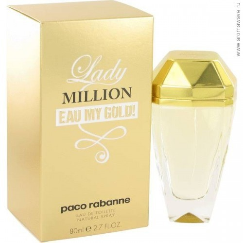 Paco Rabanne Lady Million Eau My Gold!