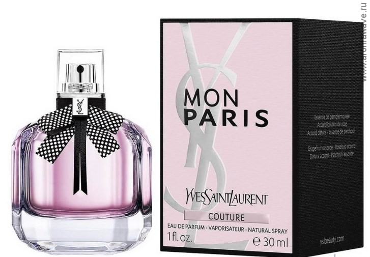 Yves Saint Laurent Mon Paris Couture​​​